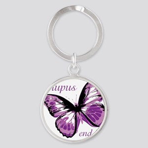 lupus end it Round Keychain