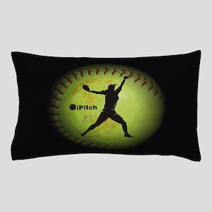 iPitch Fastpitch Softball (left handed) Pillow Cas