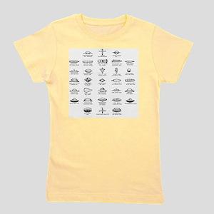 UFO Chart Girl's Tee