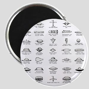 UFO Chart Magnet