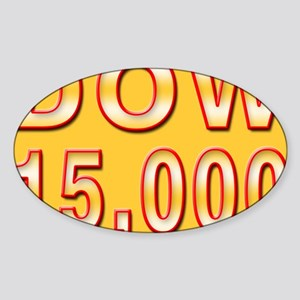DOW 15000 Sticker (Oval)