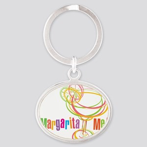 Margarita Me! Oval Keychain