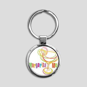 Margarita Me! Round Keychain