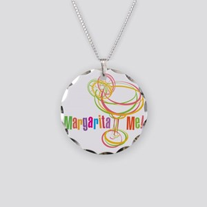 Margarita Me! Necklace Circle Charm