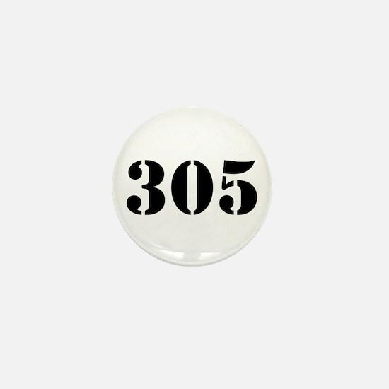 305 Army Style Mini Button