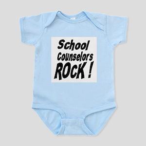 School Counselors Rock ! Infant Bodysuit