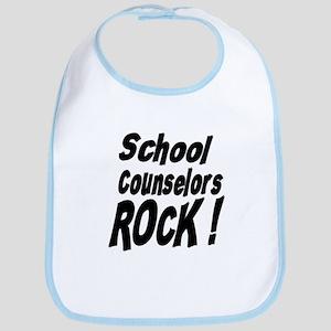 School Counselors Rock ! Bib