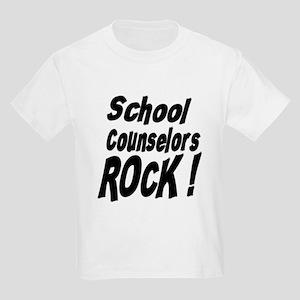 School Counselors Rock ! Kids Light T-Shirt