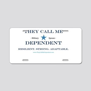 Military Expressions  Aluminum License Plate