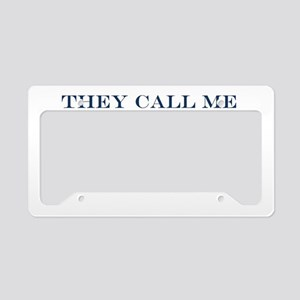 MIlitary Expressions (TCMD) L License Plate Holder