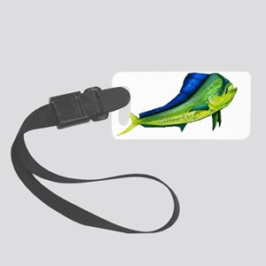 Bull Mahi Mahi Small Luggage Tag