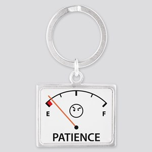 Out of Patience Landscape Keychain
