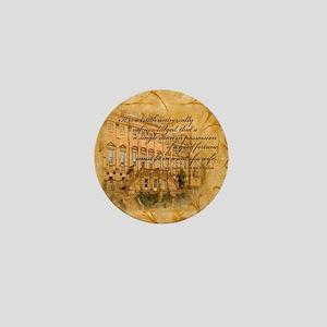 Jane Austen Quote Mini Button