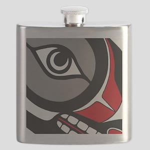 Kushtaka (Bigfoot) Flask
