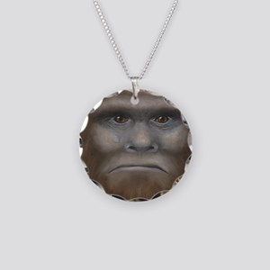 Bigfoot Necklace Circle Charm
