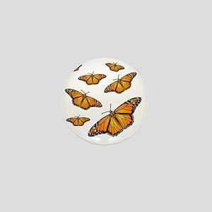 Monarch Butterflies Mini Button
