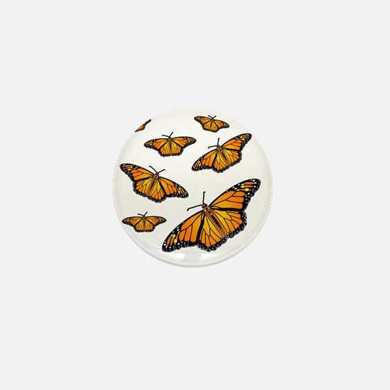 Monarch Butterflies Mini Button