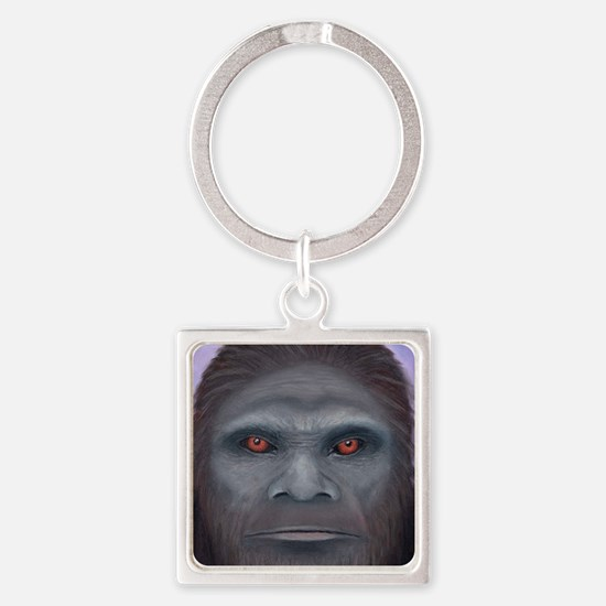 Bigfoot: The Encounter Square Keychain