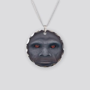 Bigfoot: The Encounter Necklace Circle Charm