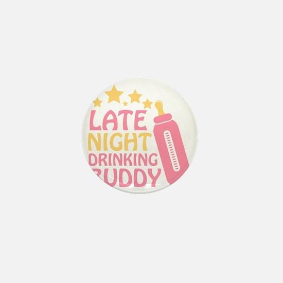 Drinking Buddy Mini Button