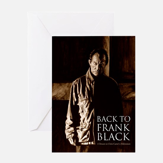Back To Frank Black Book Cover Greeting Card