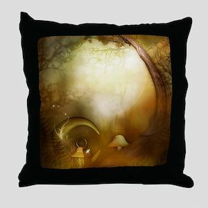 Fairy Woodlands 10 Throw Pillow