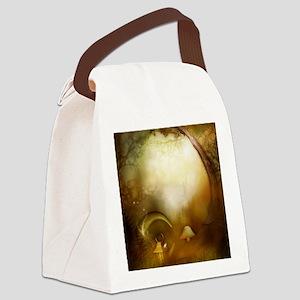 Fairy Woodlands 10 Canvas Lunch Bag