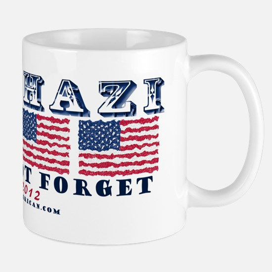 Benghazi - Never Forget (with Date) Mug