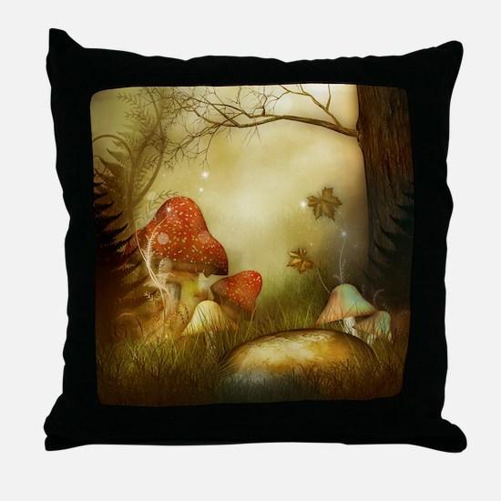 Fairy Woodlands 4 Throw Pillow