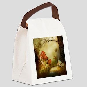 Fairy Woodlands 4 Canvas Lunch Bag