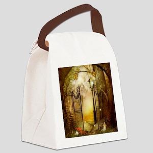 Fairy Woodlands 8 Canvas Lunch Bag