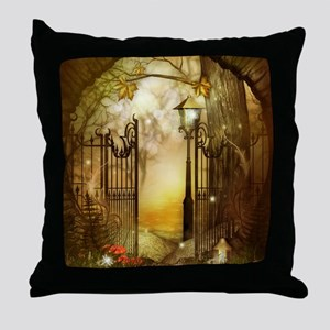 Fairy Woodlands 8 Throw Pillow