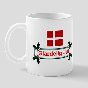 Denmark Glaedelig Jul Mug