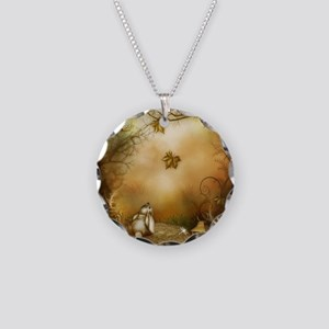 Fairy Woodlands 1 Necklace Circle Charm