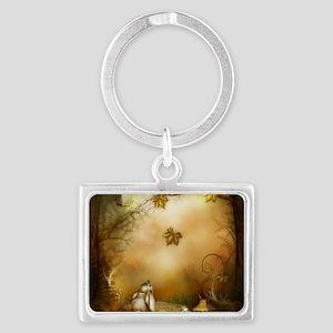 Fairy Woodlands 1 Landscape Keychain