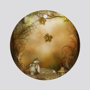 Fairy Woodlands 1 Round Ornament