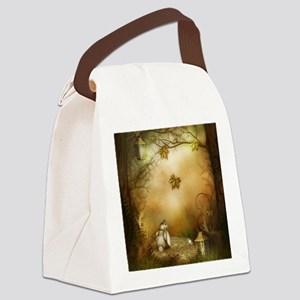 Fairy Woodlands 1 Canvas Lunch Bag