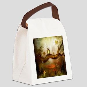 Fairy Woodlands 3 Canvas Lunch Bag