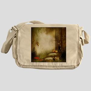 Fairy Woodlands 9 Messenger Bag