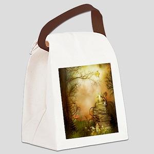Fairy Woodlands 2 Canvas Lunch Bag