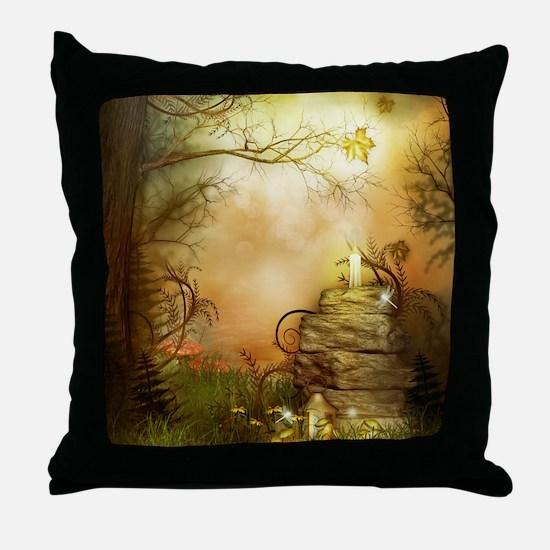 Fairy Woodlands 2 Throw Pillow