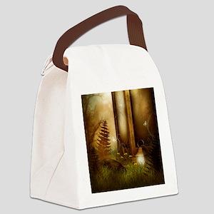 Fairy Woodlands 5 Canvas Lunch Bag