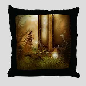 Fairy Woodlands 5 Throw Pillow