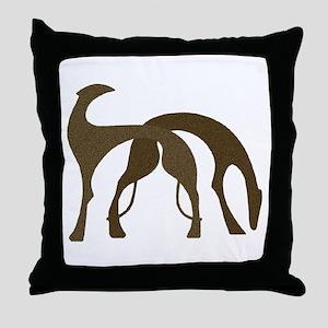 Hounds Pillow Brown