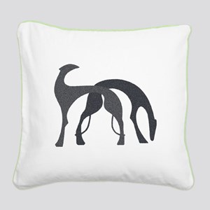 Charcoal Hounds 20 Inch Pillow