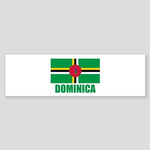 Dominica Flag Bumper Sticker