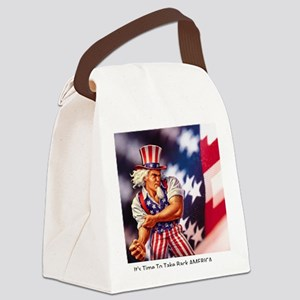 Time to take back America Canvas Lunch Bag