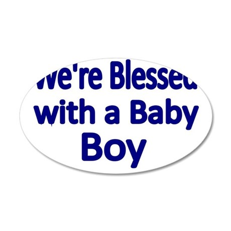 Were Blessed With A Baby Boy Wall Decal By Admincp78225928