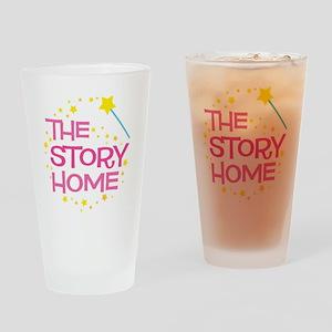 TSH LOGO for Dark shirt Drinking Glass