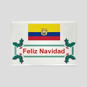 Ecuador Feliz.. Rectangle Magnet